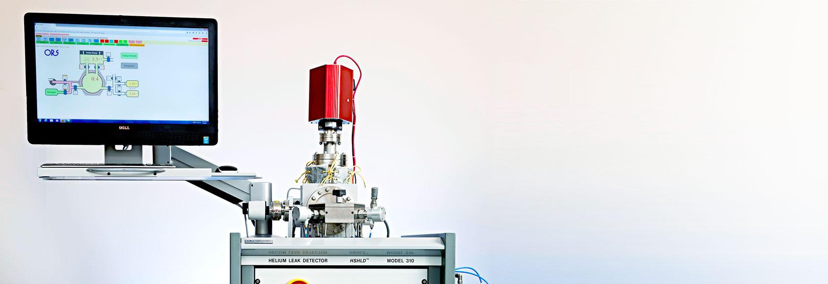 High Sensitivity Helium Leak Detector